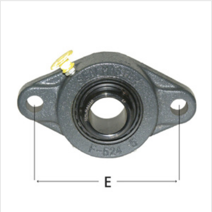 2-Bolt Flange MSFT Series Medium-Duty