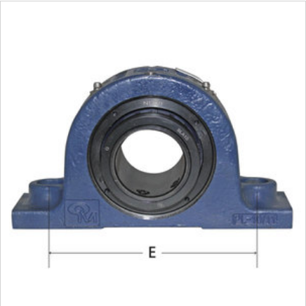 2-Bolt Pillow Block Double Roller Bearing