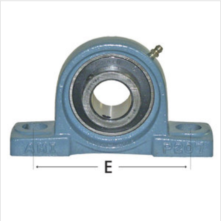 2-Bolt Pillow Block Normal Duty With Contact Seal
