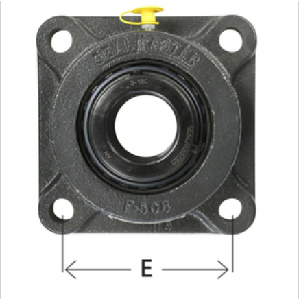 4-Bolt Flange MSF Series Medium-Duty