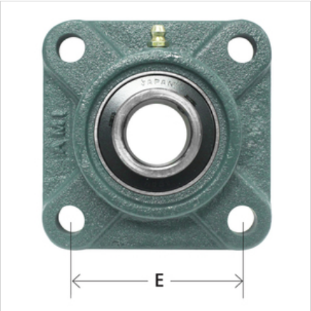 4-Bolt Flange Normal Duty With Contact Seal