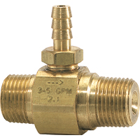 General Pump Chemical Injectors - Brass