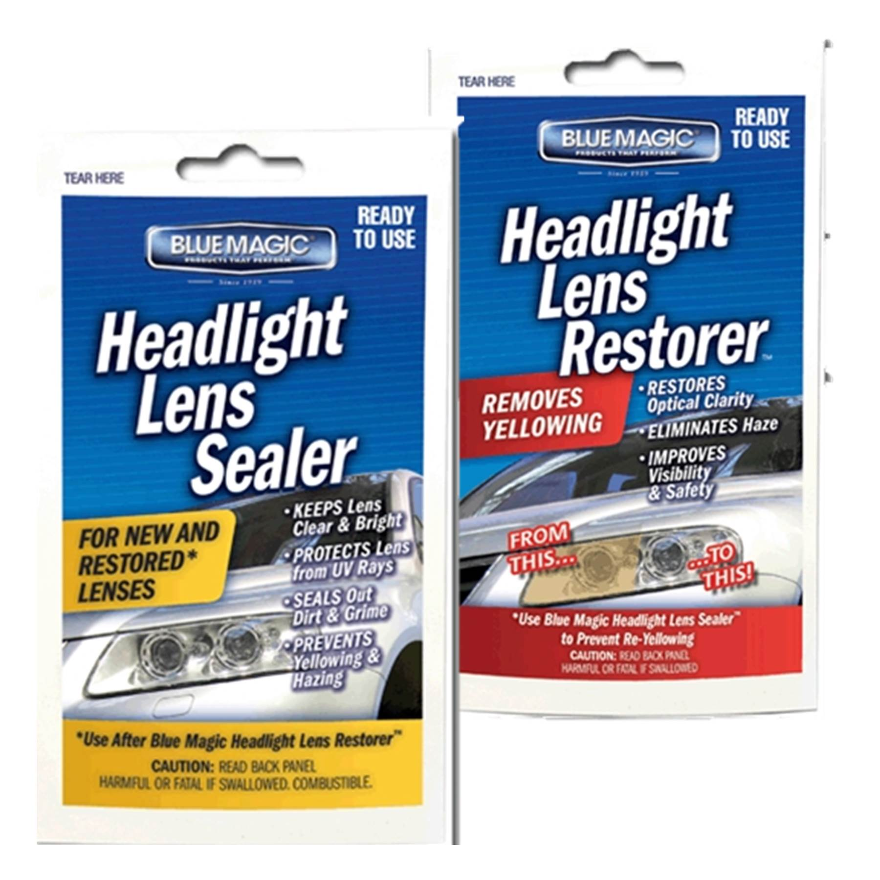 Headlight Restoration and Sealants