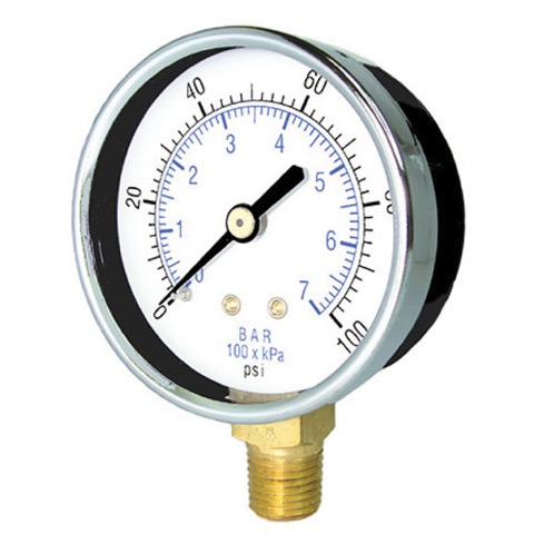 Non-Liquid Filled Pressure Gauges