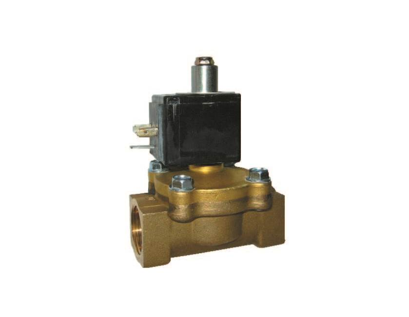Normally Open Solenoid Valves (Diaphragm)
