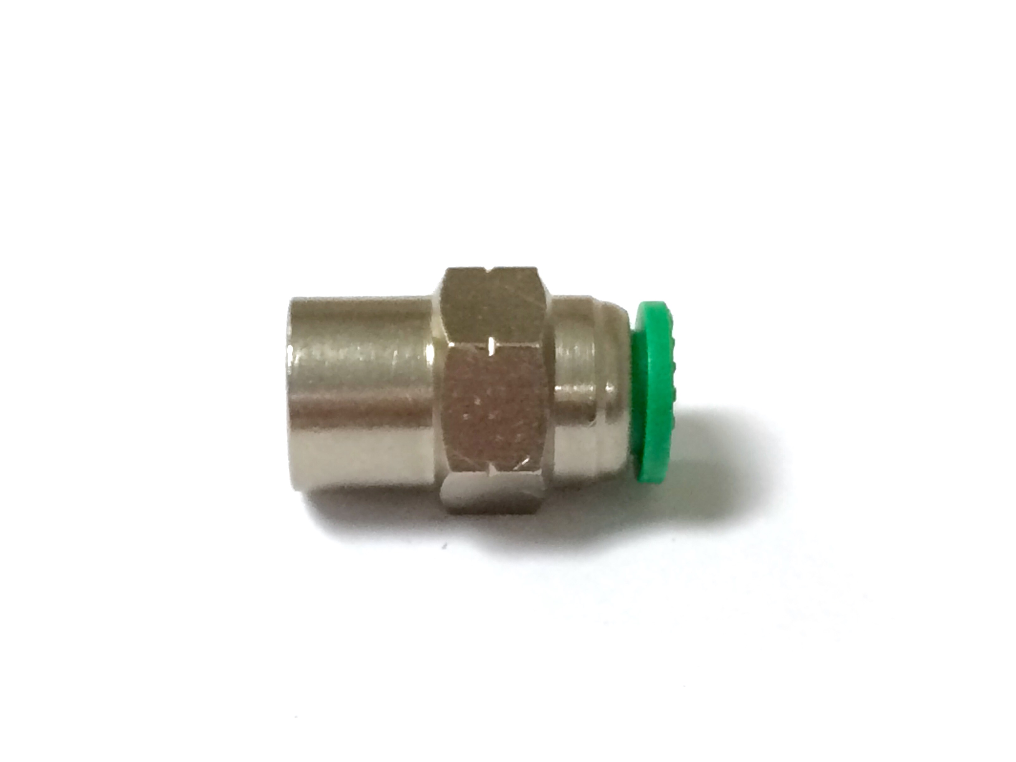 Nickel plated push in male connector car wash super store