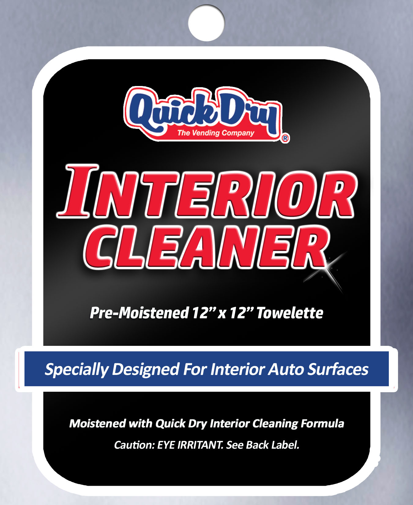 Quick Dry Interior Cleaning Wipe