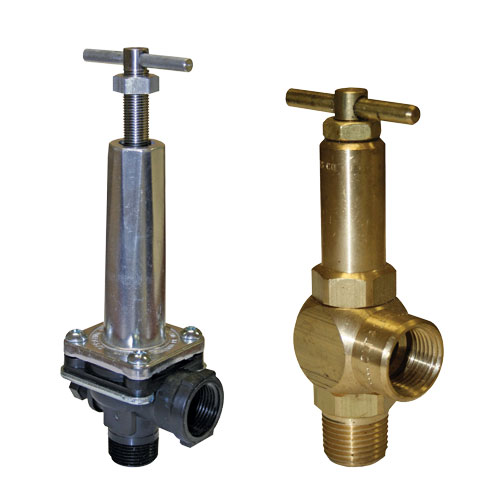 Spraying Systems Regulators/Pressure Relief Valves
