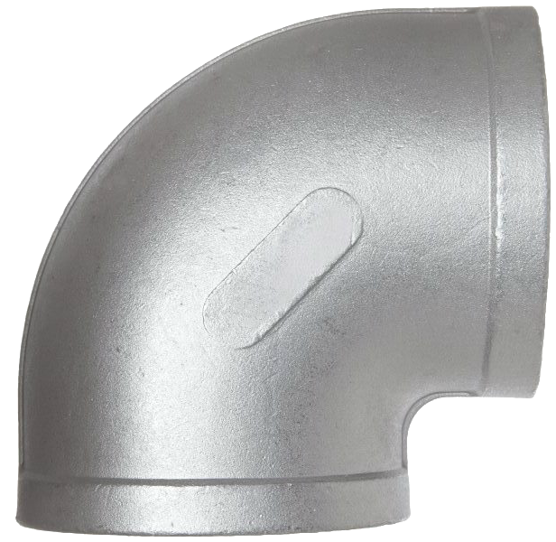 Stainless Steel Barstock Fittings - 90° Elbow